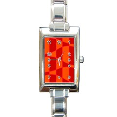 Background Texture Pattern Colorful Rectangle Italian Charm Watch