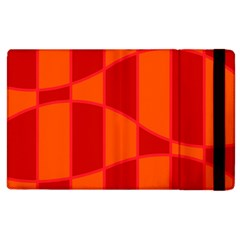 Background Texture Pattern Colorful Apple Ipad 2 Flip Case by Nexatart
