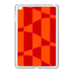 Background Texture Pattern Colorful Apple Ipad Mini Case (white) by Nexatart