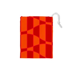 Background Texture Pattern Colorful Drawstring Pouches (small)