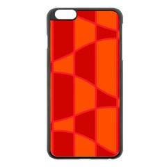 Background Texture Pattern Colorful Apple Iphone 6 Plus/6s Plus Black Enamel Case by Nexatart