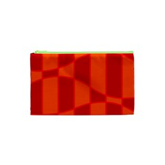 Background Texture Pattern Colorful Cosmetic Bag (xs) by Nexatart