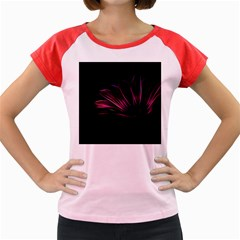 Pattern Design Abstract Background Women s Cap Sleeve T Shirt