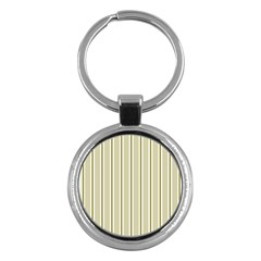 Pattern Background Green Lines Key Chains (round)