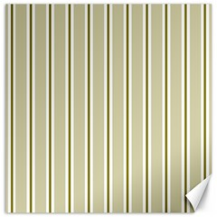 Pattern Background Green Lines Canvas 12  X 12