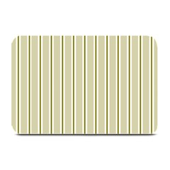Pattern Background Green Lines Plate Mats