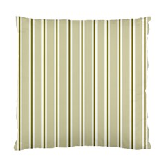 Pattern Background Green Lines Standard Cushion Case (two Sides) by Nexatart