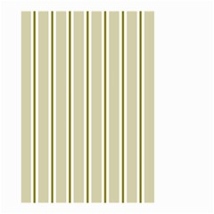 Pattern Background Green Lines Small Garden Flag (two Sides)