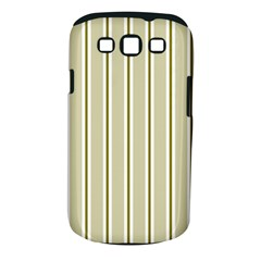 Pattern Background Green Lines Samsung Galaxy S Iii Classic Hardshell Case (pc+silicone) by Nexatart