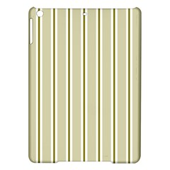 Pattern Background Green Lines Ipad Air Hardshell Cases by Nexatart