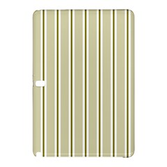 Pattern Background Green Lines Samsung Galaxy Tab Pro 10 1 Hardshell Case by Nexatart