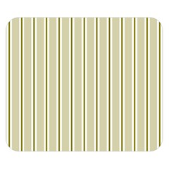 Pattern Background Green Lines Double Sided Flano Blanket (small)