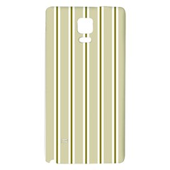 Pattern Background Green Lines Galaxy Note 4 Back Case