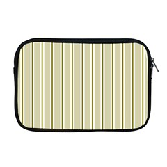 Pattern Background Green Lines Apple Macbook Pro 17  Zipper Case by Nexatart