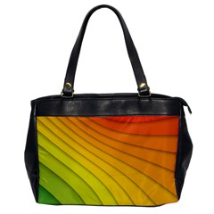 Abstract Pattern Lines Wave Office Handbags by Nexatart