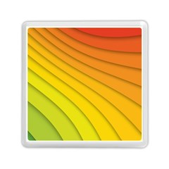 Abstract Pattern Lines Wave Memory Card Reader (square)  by Nexatart