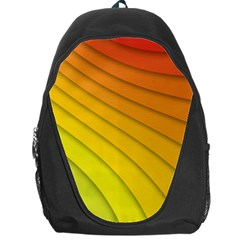 Abstract Pattern Lines Wave Backpack Bag