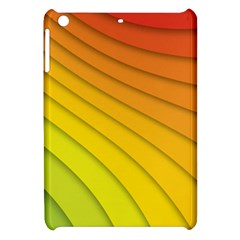 Abstract Pattern Lines Wave Apple Ipad Mini Hardshell Case by Nexatart