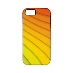 Abstract Pattern Lines Wave Apple Iphone 5 Classic Hardshell Case (pc+silicone) by Nexatart