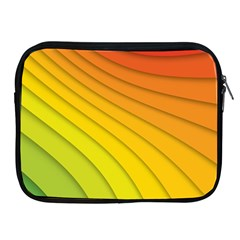 Abstract Pattern Lines Wave Apple Ipad 2/3/4 Zipper Cases by Nexatart