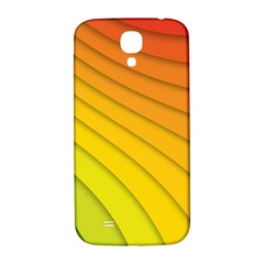 Abstract Pattern Lines Wave Samsung Galaxy S4 I9500/i9505  Hardshell Back Case