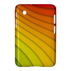 Abstract Pattern Lines Wave Samsung Galaxy Tab 2 (7 ) P3100 Hardshell Case