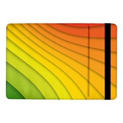 Abstract Pattern Lines Wave Samsung Galaxy Tab Pro 10 1  Flip Case by Nexatart