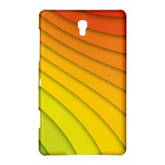 Abstract Pattern Lines Wave Samsung Galaxy Tab S (8 4 ) Hardshell Case