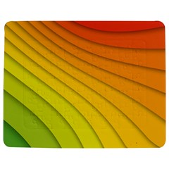 Abstract Pattern Lines Wave Jigsaw Puzzle Photo Stand (rectangular)