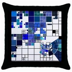 Design Throw Pillow Case (black) by Nexatart