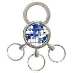 Design 3 Ring Key Chains by Nexatart