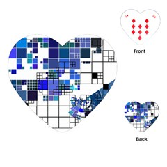 Design Playing Cards (heart)  by Nexatart