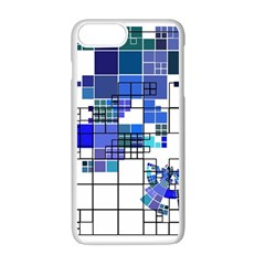 Design Apple Iphone 7 Plus White Seamless Case by Nexatart