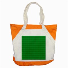 Pattern Green Background Lines Accent Tote Bag by Nexatart