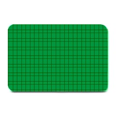 Pattern Green Background Lines Plate Mats