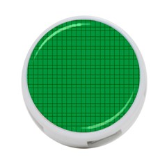 Pattern Green Background Lines 4 Port Usb Hub (two Sides)  by Nexatart