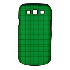 Pattern Green Background Lines Samsung Galaxy S Iii Classic Hardshell Case (pc+silicone) by Nexatart