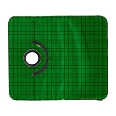 Pattern Green Background Lines Galaxy S3 (Flip/Folio)