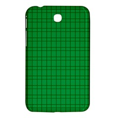 Pattern Green Background Lines Samsung Galaxy Tab 3 (7 ) P3200 Hardshell Case  by Nexatart