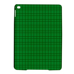Pattern Green Background Lines Ipad Air 2 Hardshell Cases by Nexatart