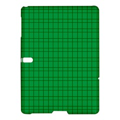 Pattern Green Background Lines Samsung Galaxy Tab S (10 5 ) Hardshell Case  by Nexatart