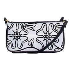 Decoration Pattern Design Flower Shoulder Clutch Bags by Nexatart