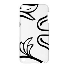 Decoration Pattern Design Flower Apple Ipod Touch 5 Hardshell Case by Nexatart