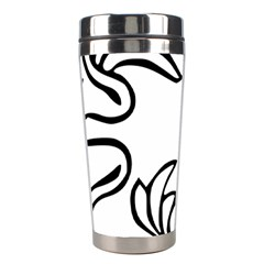 Decoration Pattern Design Flower Stainless Steel Travel Tumblers