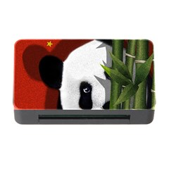Panda Memory Card Reader With Cf by Valentinaart