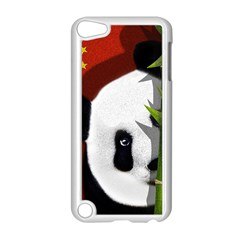 Panda Apple Ipod Touch 5 Case (white) by Valentinaart