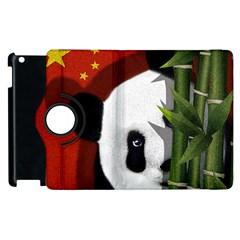 Panda Apple Ipad 3/4 Flip 360 Case by Valentinaart