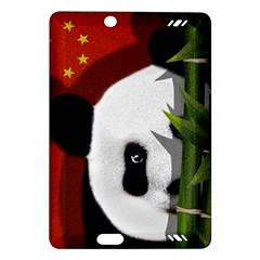 Panda Amazon Kindle Fire Hd (2013) Hardshell Case by Valentinaart