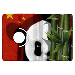 Panda Kindle Fire Hdx Flip 360 Case by Valentinaart