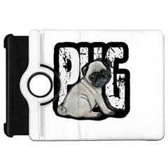 Pug Kindle Fire Hd 7  by Valentinaart